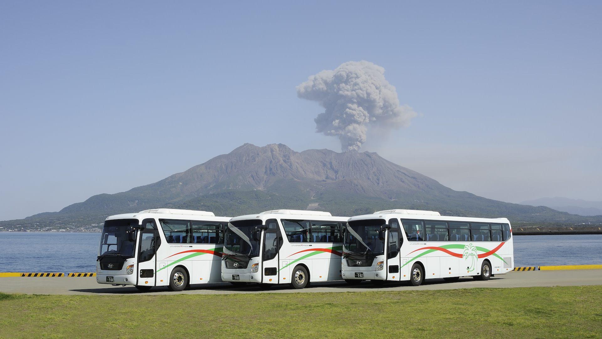鹿児島県内を網羅するバスネットワーク